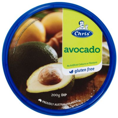 Chris' Traditional Avocado Dip 200g
