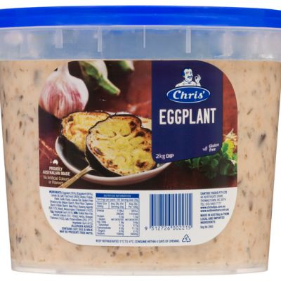 Chris' Traditional Eggplant Dip 2kg