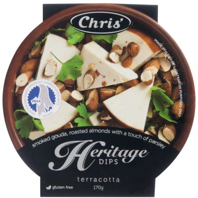 Chris' Heritage Smoked Gouda & Almond Dip 170g