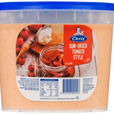 Chris' Traditional Sun Dried Tomato Dip 2kg (WA)