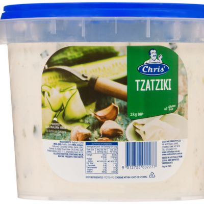 Chris' Traditional Tzatziki Dip 2kg