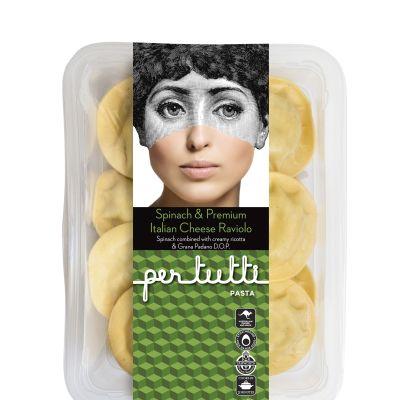 Pertutti Raviolo Spinach & Premium Italian Cheese 400g
