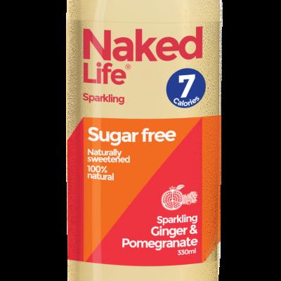 Naked Life Ginger & Pomegranate 330g