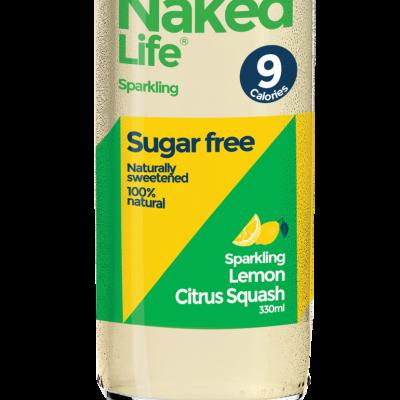Naked Life Lemon, Citrus Squash 330ml