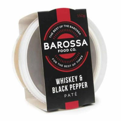 Barossa Food Co. Whisky & Pepper Pate 150g