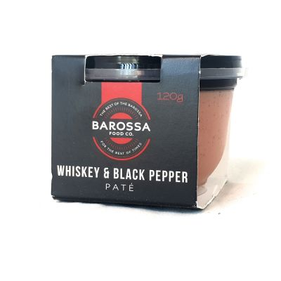 Barossa Food Co. Whisky & Pepper Pate 120g (WA)