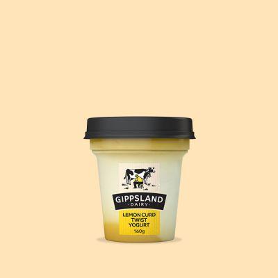 Gippsland Dairy Lemon Curd Yoghurt 160g
