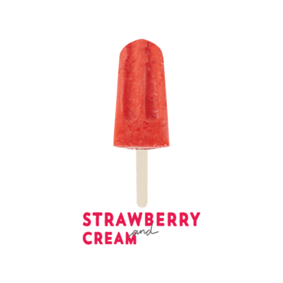 Paloma Pops Strawberry & Cream (WA)