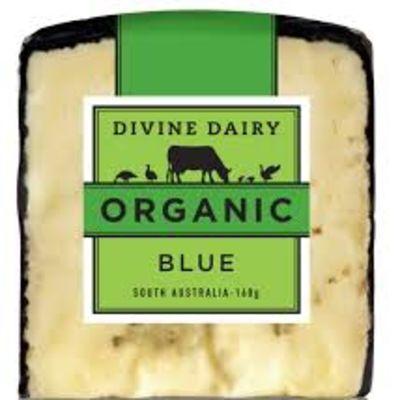 Divine Dairy Organic Blue 160g