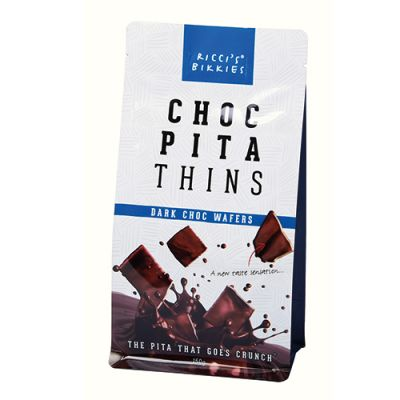 Ricci's Bikkies Dark Chocolate Pita Thins 150g