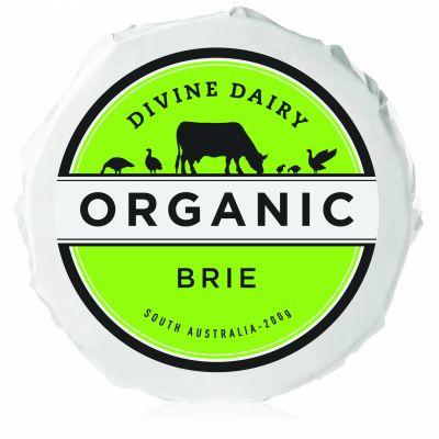Divine Dairy Organic Brie 200g