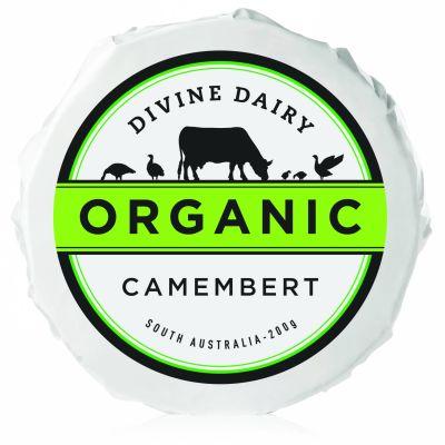 Divine Dairy Organic Camembert 200g