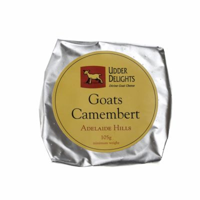 Udder Delights Goats Camembert 105g