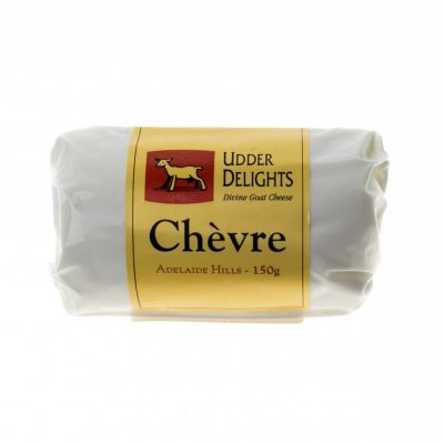 Udder Delights Goat Chevre Log 150g