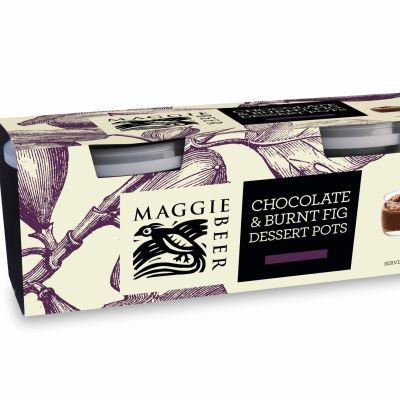 Maggie Beer Chocolate & Burnt Fig Dessert Pots 160g