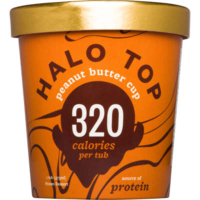 Halo Top Peanut Butter Cup (WA & QLD)