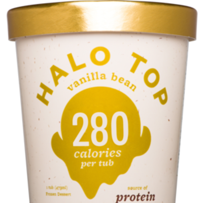 Halo Top Vanilla Bean 473ml (WA & QLD)