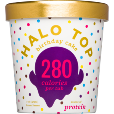 Halo Top Birthday Cake 473ml (WA & QLD)