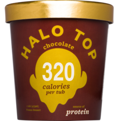 Halo Top Chocolate 473ml (WA & QLD)