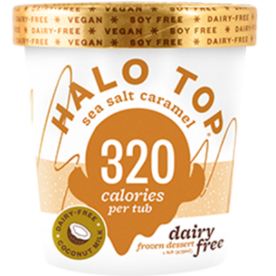 Halo Top DF Sea Salt Caramel 473ml