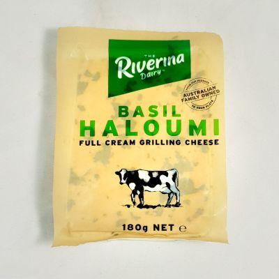 Riverina Dairy Haloumi Basil 180g