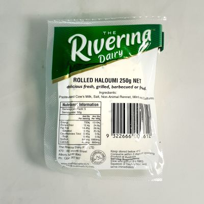 Riverina Dairy Rolled Haloumi 250g