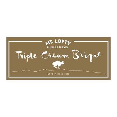 Mt. Lofty Triple Cream Brique 1kg