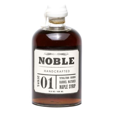 Noble Handcrafted Tonic 01 Bourbon Barrel Matured Maple Syrup (WA)