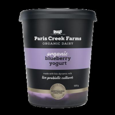 Paris Creek Farms Organic Blueberry 500g (WA)