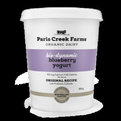 Paris Creek Farms Bio-Dynamic Blueberry 500g (WA)