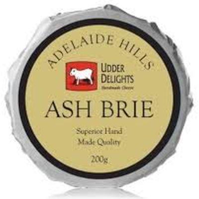 Udder Delights Ash Brie 200g