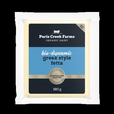 PCF Bio-Dynamic Greek Style Fetta 180g