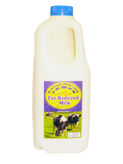 B-d Farm Milk Organic Reduced Fat 2ltr