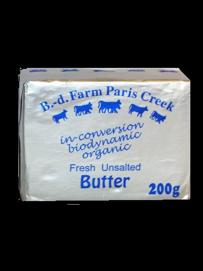 B-d Farm Butter Organic 200g