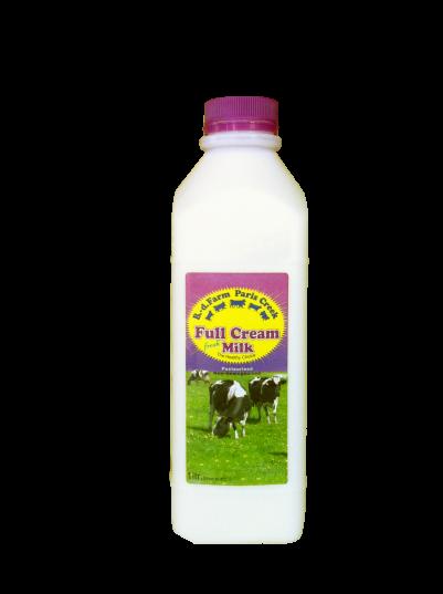 B-d Farm Milk Organic 1ltr