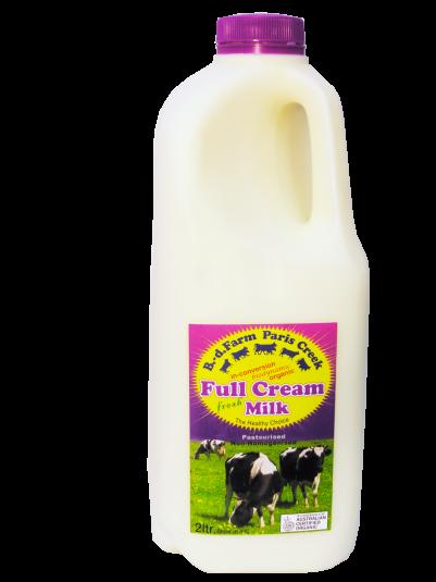 B-d Farm Milk Organic 2ltr