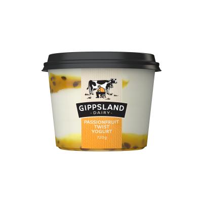Gippsland Dairy Passionfruit Yoghurt 720g (WA)