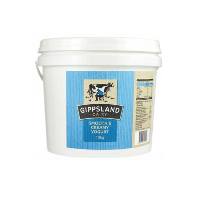 Gippsland Dairy Smooth & Creamy Yoghurt 10kg (WA)