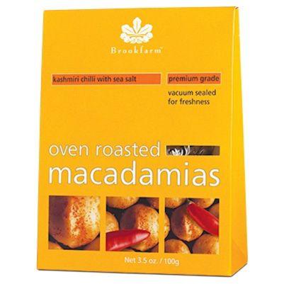 Brookfarm Macadamias Kashmiri 100g