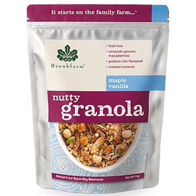 Brookfarm Nutty Granola Maple Vanilla 1kg (WA)