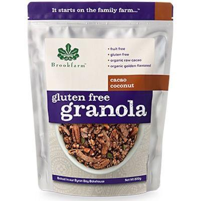 Brookfarm Gluten Free Granola Cacao Coconut 800g (WA)