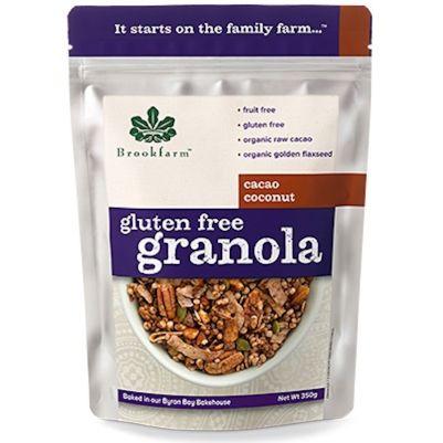 Brookfarm Gluten Free Granola Cacao Coconut 350g (WA)