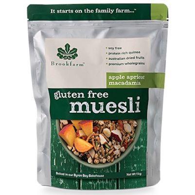 Brookfarm Gluten Free Muesli with Apricot 1kg (WA)