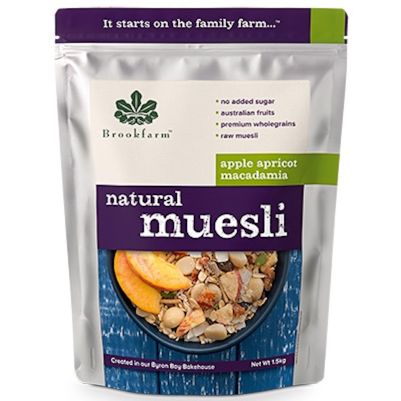 Brookfarm Natural Muesli with Apricot 1.5kg (WA)