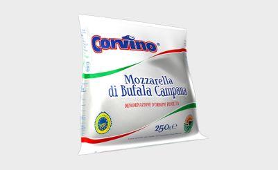 Corvino Buffalo Mozzarella DOP 250g