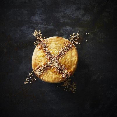 Boscastle Chicken Leek & Swiss Cheese Gourmet Pie 240g (WA & QLD)