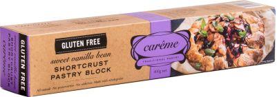 Carême Shortcrust Sweet Pastry Gluten Free 400g