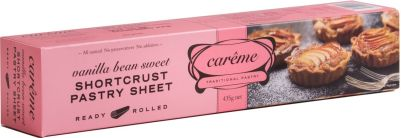 Carême Sweet Shortcrust Pastry 435g