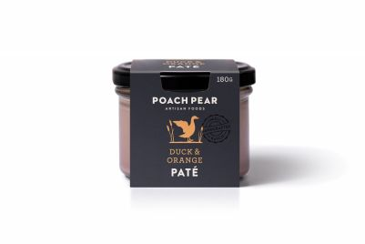 Poach Pear Duck & Orange Pate 180g