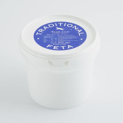 Blue Cow Greek Style Traditional Feta 3kg